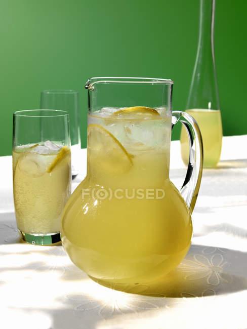Germoglio e zenzero bevanda — Foto stock