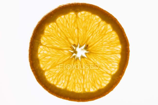 Tranche d'orange douce — Photo de stock