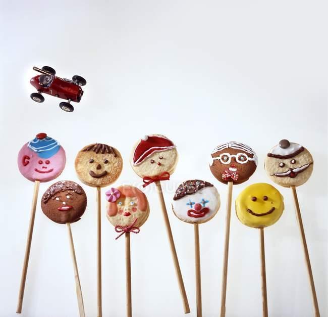 Biscoitos de pirulito caseiros — Fotografia de Stock