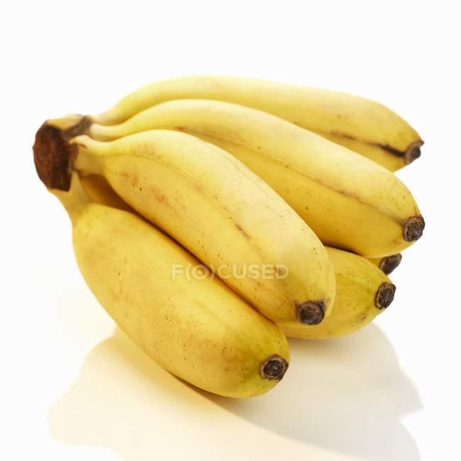 Свіжі Baby банани — стокове фото