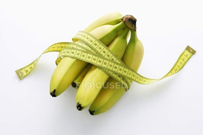 Bunch of ripe bananas — Stock Photo