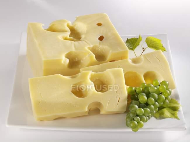 Fromage Emmental Français — Photo de stock