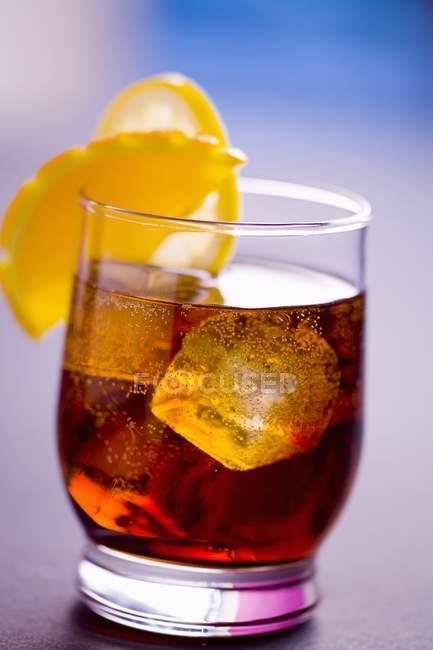 Bira Puera Cocktail — Stock Photo