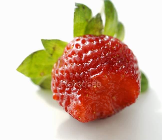 Fresh Ripe Red Strawberry — Stock Photo