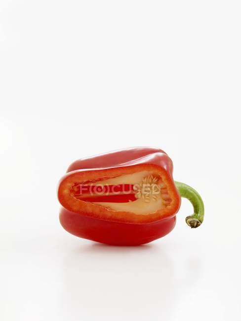 Fresh ripe red pepper — Stock Photo