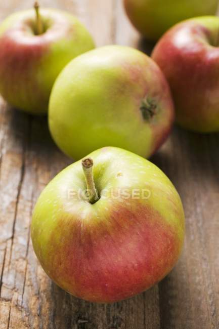 Several fresh apples — Stock Photo