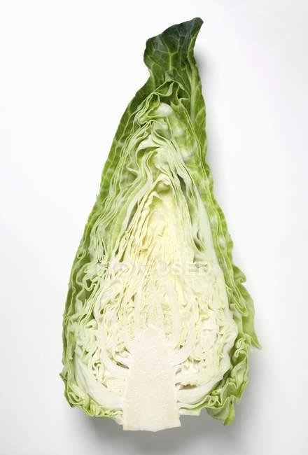 Половина остроконечное капуста — стоковое фото