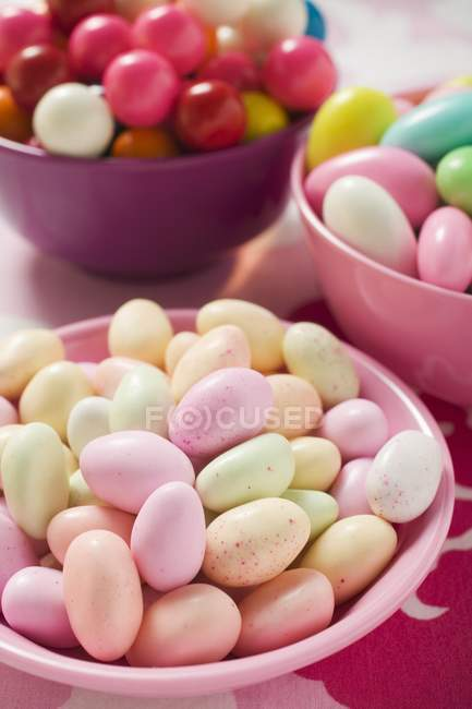 Sweets and bubble gum — Stock Photo