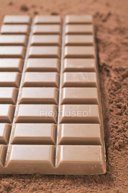Бар молочного шоколаду — стокове фото