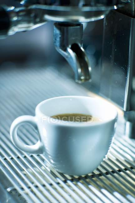 Tasse Espresso Kaffeemaschine — Stockfoto