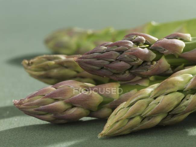 Pointes d'asperges vertes — Photo de stock