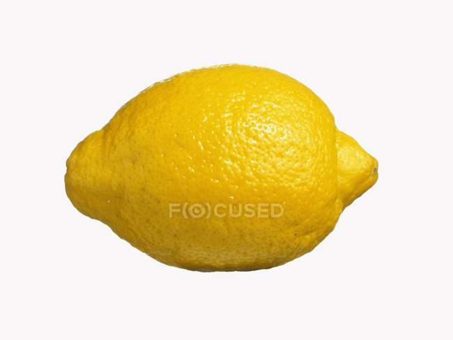 Zitrone, isoliert — Stockfoto