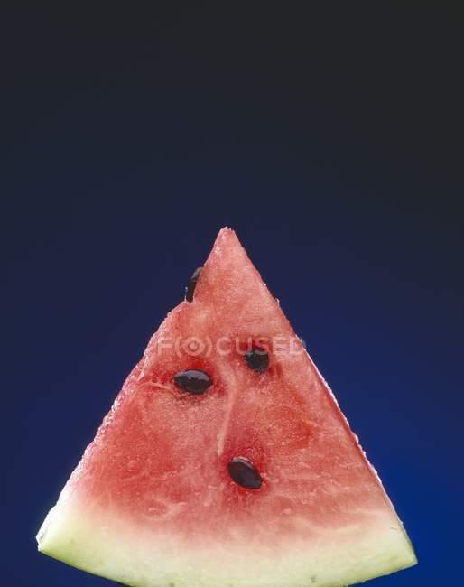 Fatia de melancia fresca — Fotografia de Stock