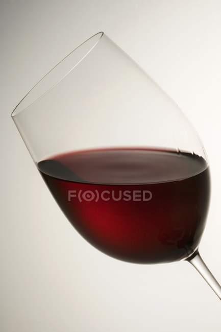 Copo de vinho tinto — Fotografia de Stock