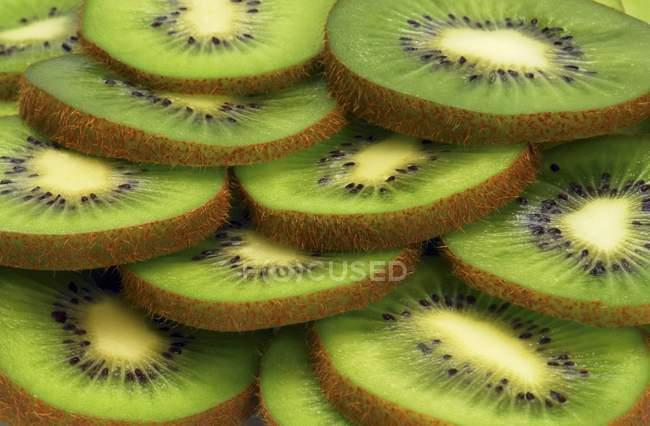 Tranches de kiwi — Photo de stock