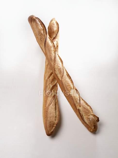 Freshly baked baguettes — Stock Photo
