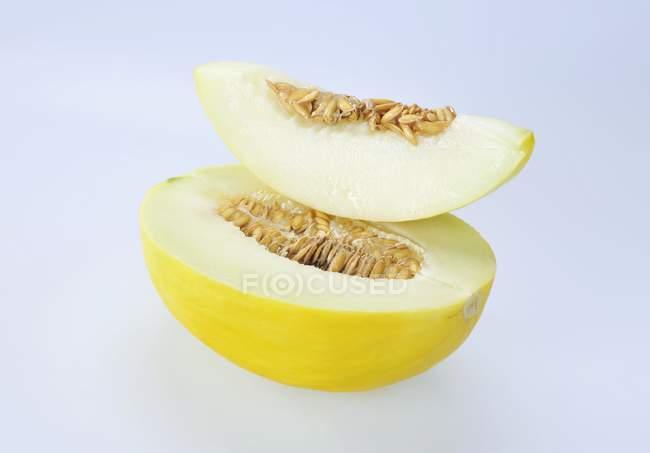 Fatia de melão — Fotografia de Stock