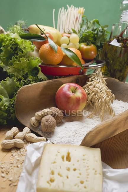 Légumes frais vert — Photo de stock