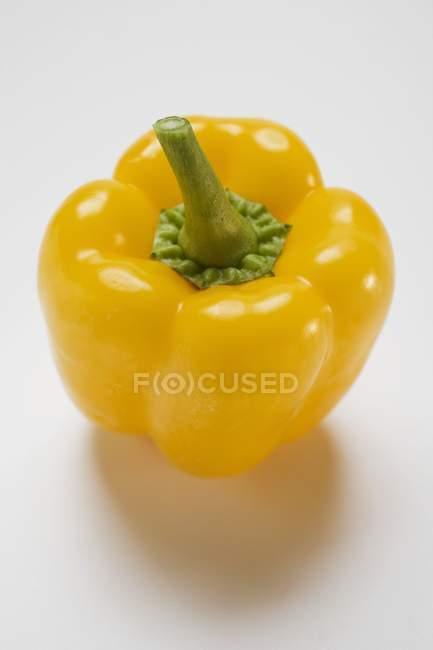 Pimiento amarillo maduro - foto de stock