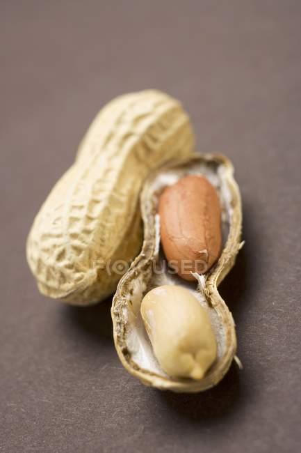 RAW арахісове відкрив — стокове фото