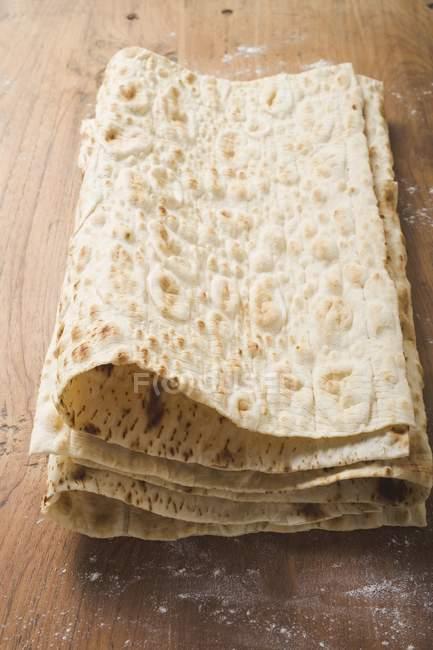 Turco Lavash sottile piadina — Foto stock