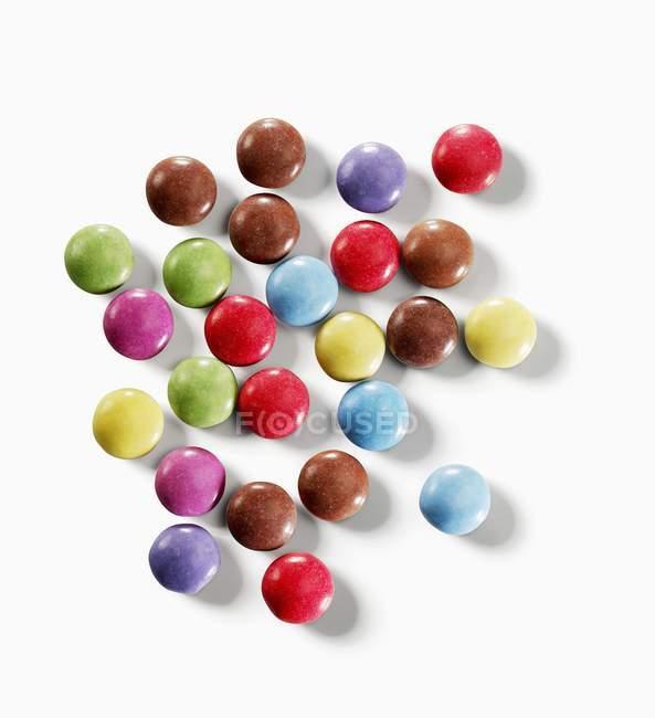 Конфеты с шоколадной фасолью — стоковое фото