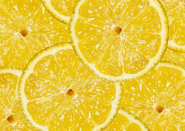 Frische reife Gelbe Zitrone — Stockfoto
