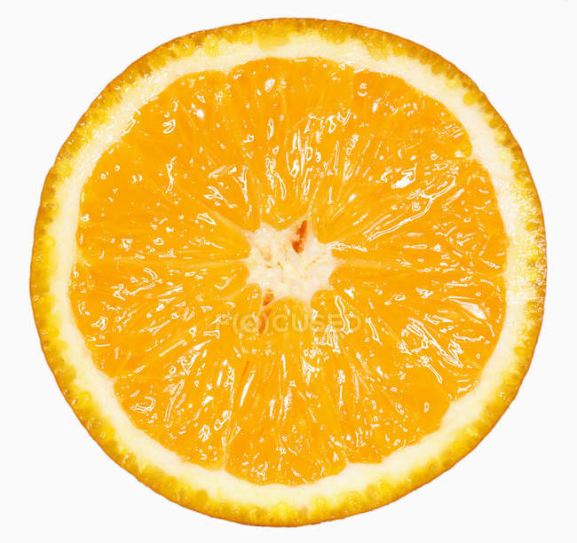 Fresh orange half — Stock Photo
