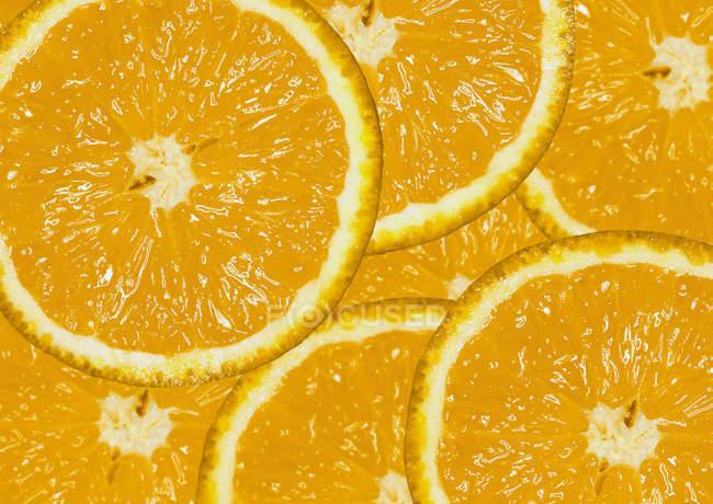 Fresh orange slices — Stock Photo