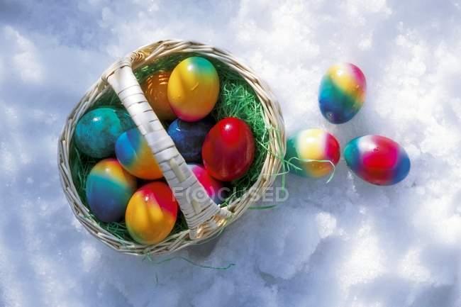 Ovos de Páscoa coloridos — Fotografia de Stock