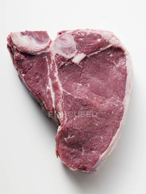 Fresh T-bone steak — Stock Photo