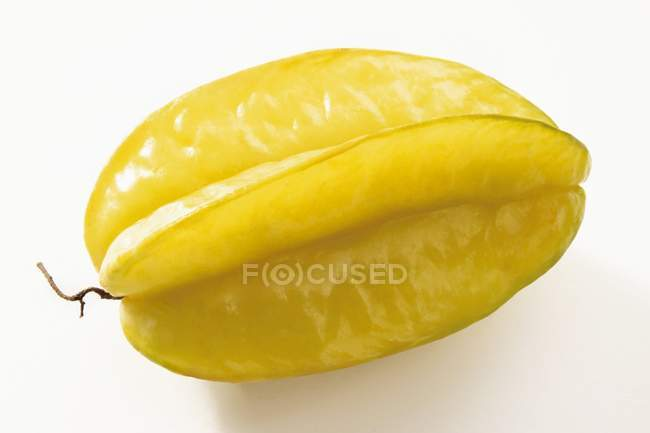 Whole yellow carambola — Stock Photo