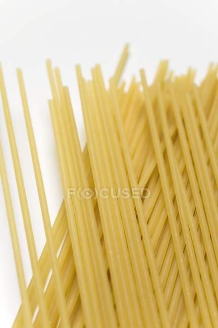 Esparguete seco cru — Fotografia de Stock