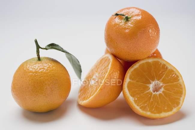 Fresh ripe clementines — Stock Photo