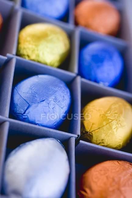 Oeufs de Pâques colorés — Photo de stock