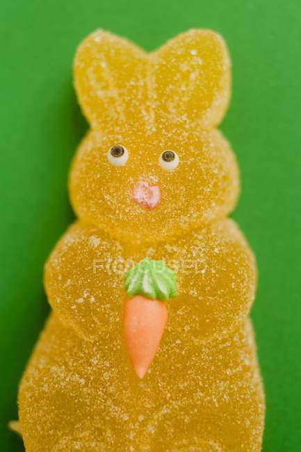Желе Пасхальный кролик — стоковое фото