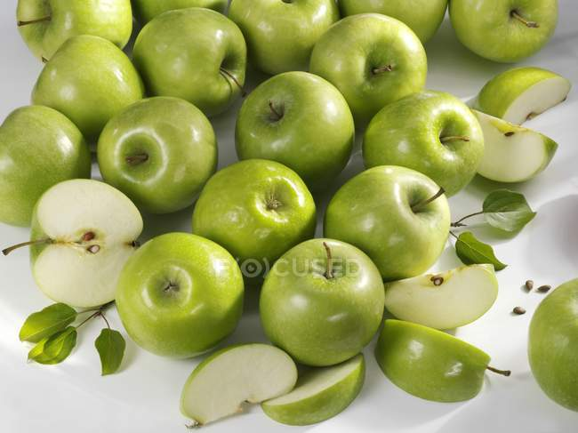 Granny Smith apples — Stock Photo