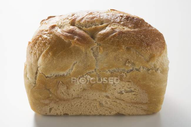 Белый хлеб олова, макро — стоковое фото