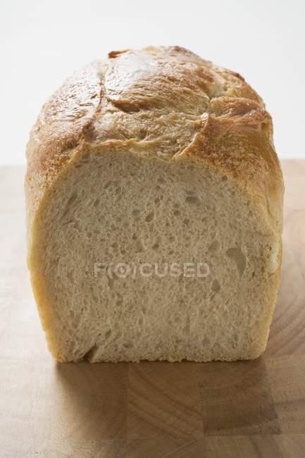 Pane di latta bianca — Foto stock
