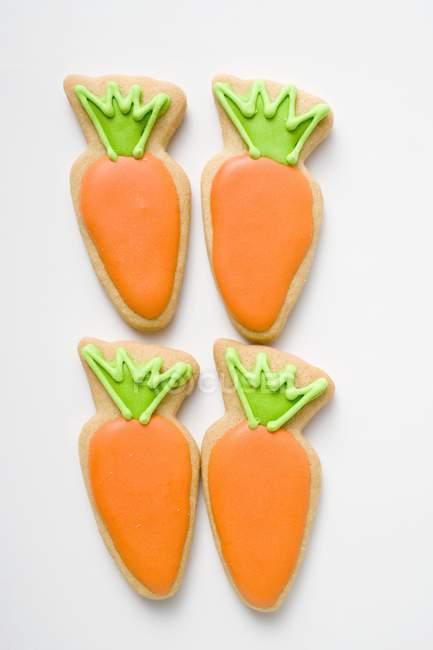 Cuatro galletas de Pascua - foto de stock