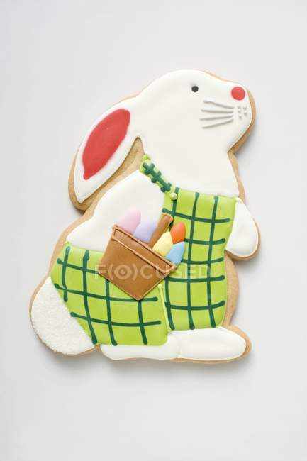 Печенье в форме кролика — стоковое фото