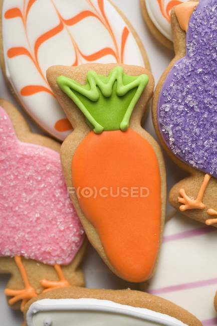Surtido de galletas de Pascua - foto de stock