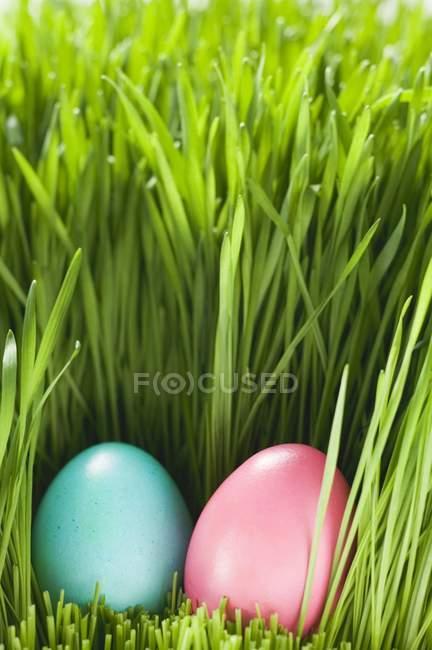 2 ovos de Páscoa — Fotografia de Stock