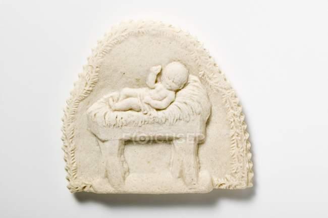 Springerle печиво з Немовля Ісус враження — стокове фото