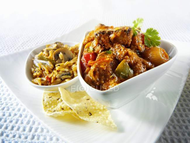 Indian Jalfrezi dish — Stock Photo