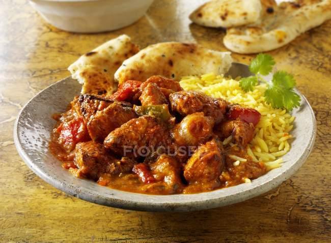 Indisches Jalfrezi-Gericht — Stockfoto