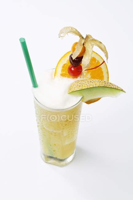 Melonenalkoholcocktail — Stockfoto