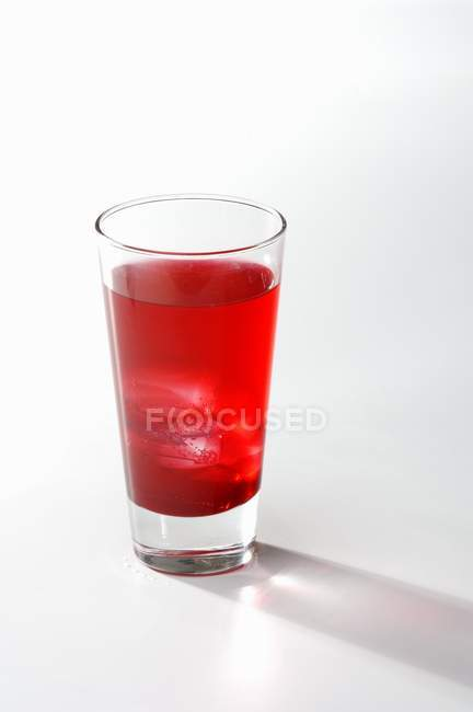 Campari cocktail in vetro — Foto stock