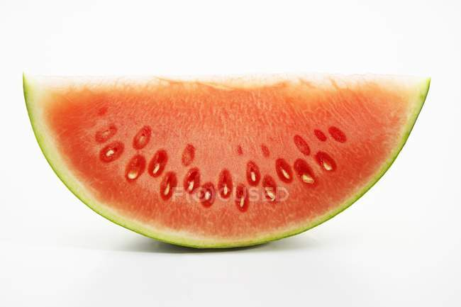 Fatia fresca de melancia — Fotografia de Stock