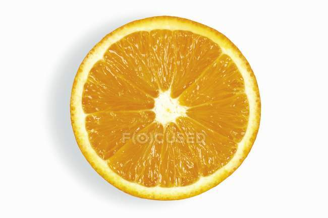 Fresh half orange — Stock Photo